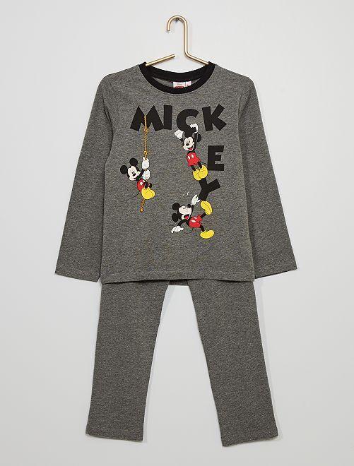 Pyjama 'Mickey'                                         gris chiné