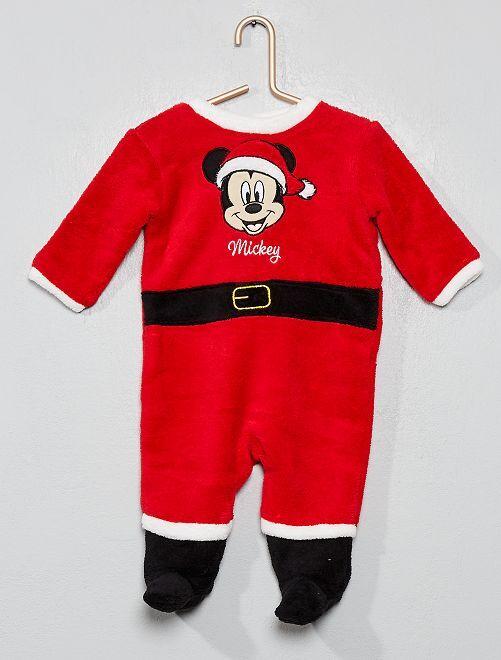 Pyjama 'Mickey' Noël                             rouge