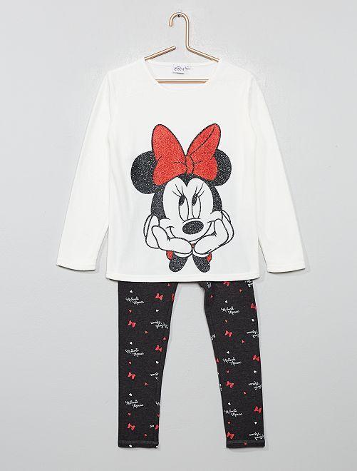Pyjama 'Minnie'                             blanc