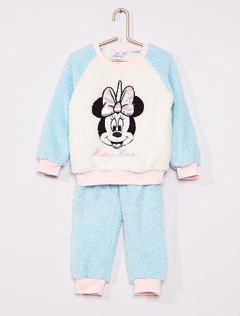 Pyjama 'Minnie' maille peluche