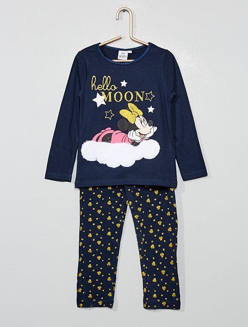 Pyjama 'Minnie Mouse'                                         bleu marine Fille