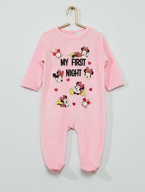 Pyjama 'Minnie Mouse' de 'Disney'                             rose