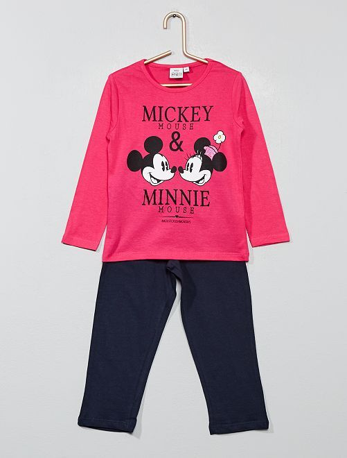Pyjama 'Minnie Mouse' 'Disney'                                         rose fushia