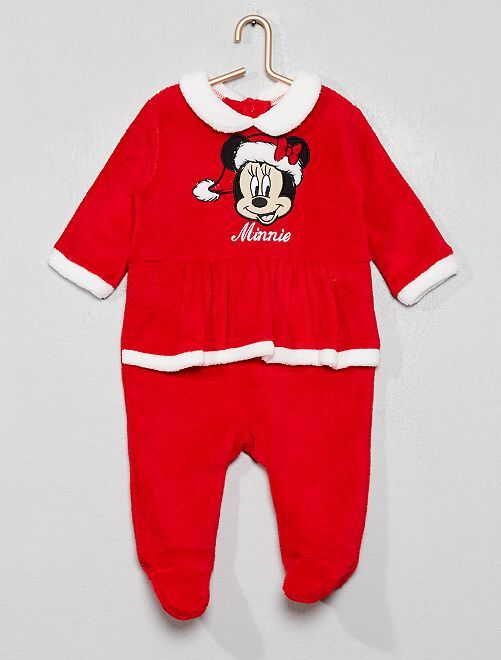Pyjama 'Minnie' Noël                             rouge