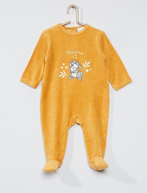 Pyjama 'Panpan' de 'Disney'                                                                                                     jaune/panpan