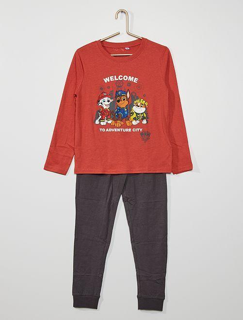 Pyjama 'Pat' Patrouille'                             rouge