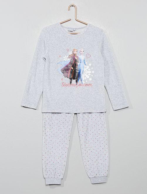 Pyjama polaire 'La Reine des Neiges'                             gris