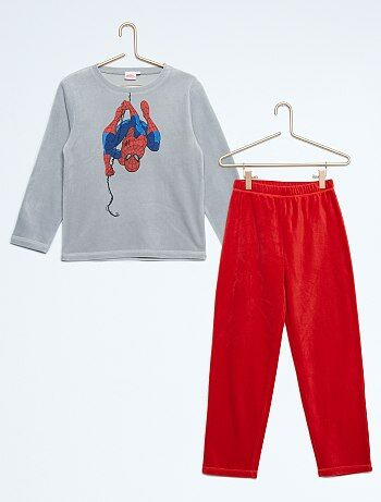Pyjama polaire `Spiderman`