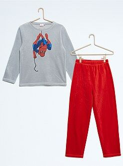 Pyjama, peignoir - Pyjama polaire 'Spiderman'