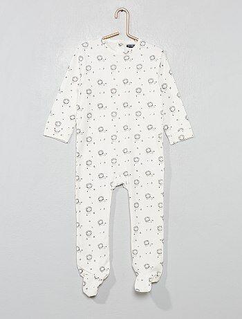 020ee13459f6a Pyjama pur coton  lion  - Kiabi