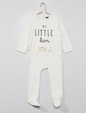 b1695845081a6 Pyjama pur coton  lion  - Kiabi
