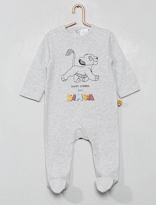 Pyjama 'Simba' du 'Roi Lion'                                         gris/simba