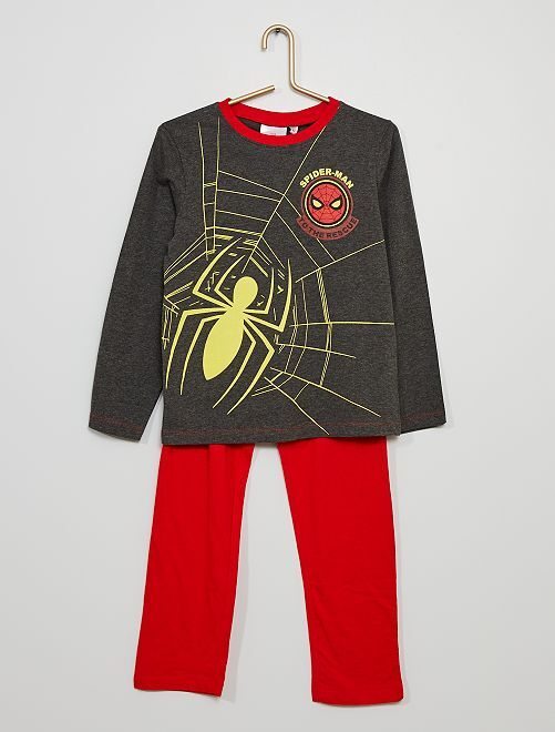 Pyjama 'Spider-man'                                         gris/rouge
