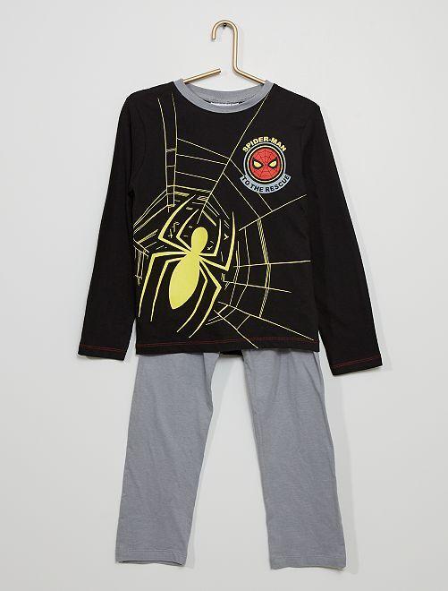 Pyjama 'Spider-man'                                         noir/gris