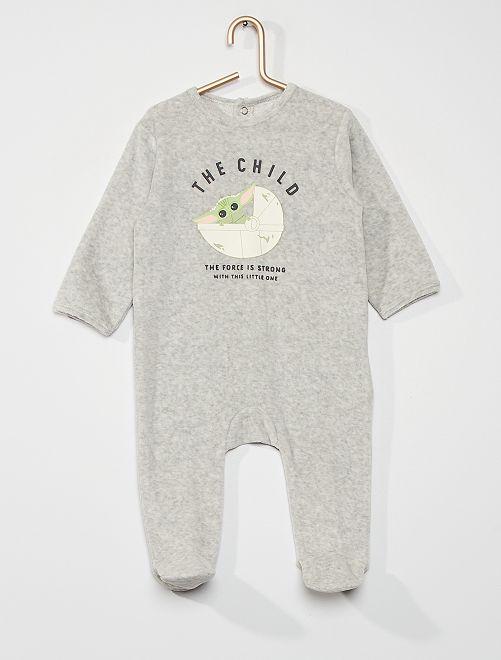 Pyjama 'Star Wars'                                         gris clair