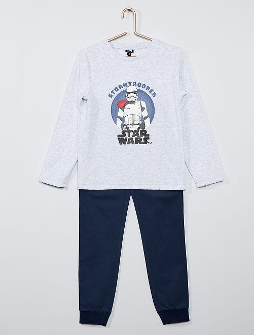 Pyjama 'Star Wars' 'Stormtrooper'                             gris