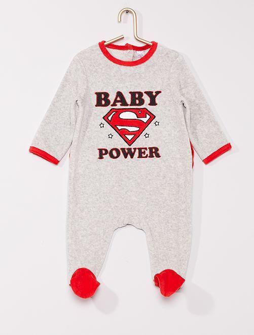 Pyjama 'Superman' de 'DC Comics'                             GRIS