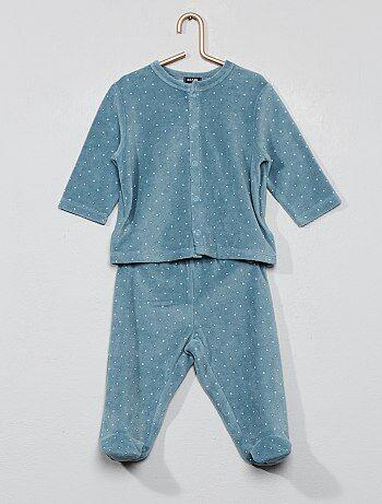 3c754388f4c31 Pymama 2 pièces pour bébé - pyjama hiver