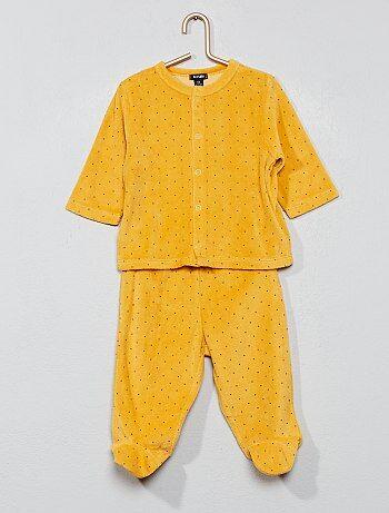 6e5e1cd20427d Pymama 2 pièces pour bébé - pyjama hiver