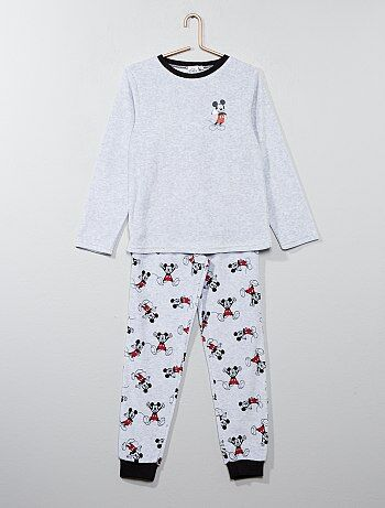 Pyjama velours 'Mickey Mouse' de 'Disney' - Kiabi