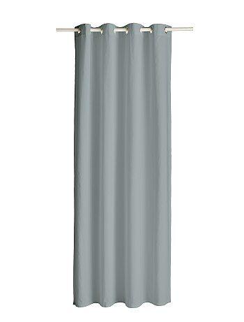 Product Couleur : zinc, fuchsia, blanc,rouge,bronze - Taille : TU, , ,,Habillement Maison / Maison / Rideau, voilage / Rideau  Envie d'une nouvelle déco, optez pour ce rideau à oeillets ! - Dimensions : 140 x 260  KIABI
