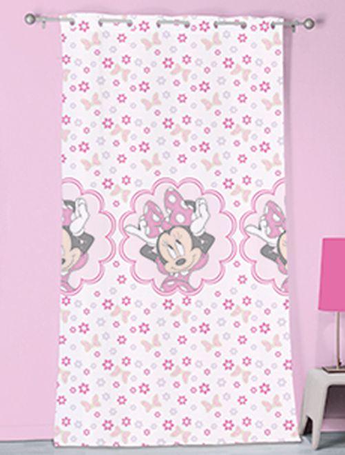 Rideau 'Minnie Mouse'                             blanc/rose