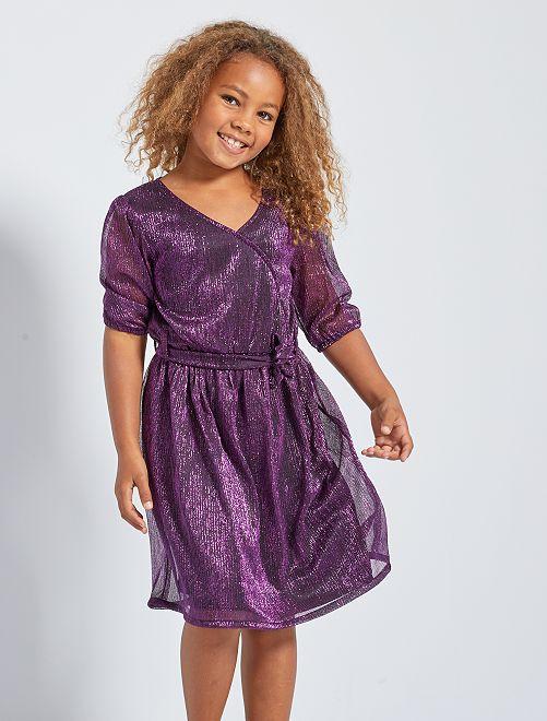 Robe brillante                             violet