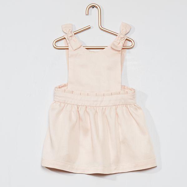 Robe Chasuble Et Culotte Assortie Bebe Fille Rose Pale Kiabi 8 40