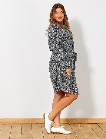 Soldes robe longue   achat de robes fluide, fendue, moulante ou d ... fb52c33a573b