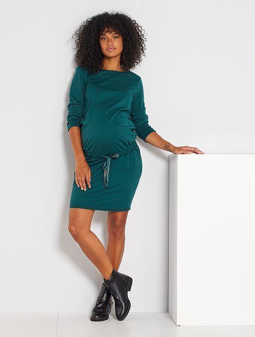 Robe courte de maternité                                         vert