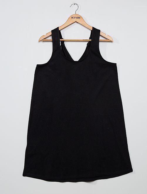 Robe courte 'éco-conception'                                         noir