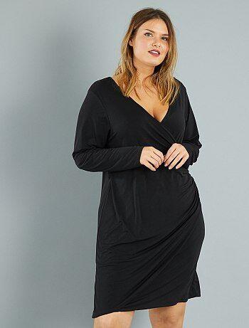 2e2e7efeb73c1 Soldes robe grande taille femme à petit prix Grande taille femme   Kiabi