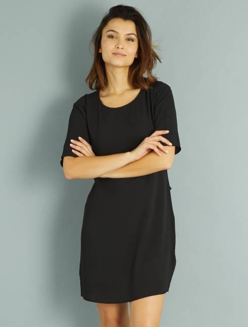 Robe courte 'Jacqueline de Yong' noir Femme