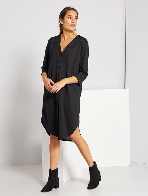 Robe courte loose                             noir
