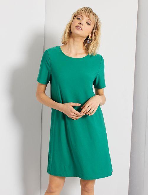 Robe courte                                                                 vert pin