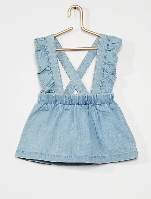 Robe + culotte                             bleu