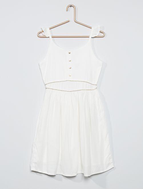 Robe de cérémonie                                 blanc