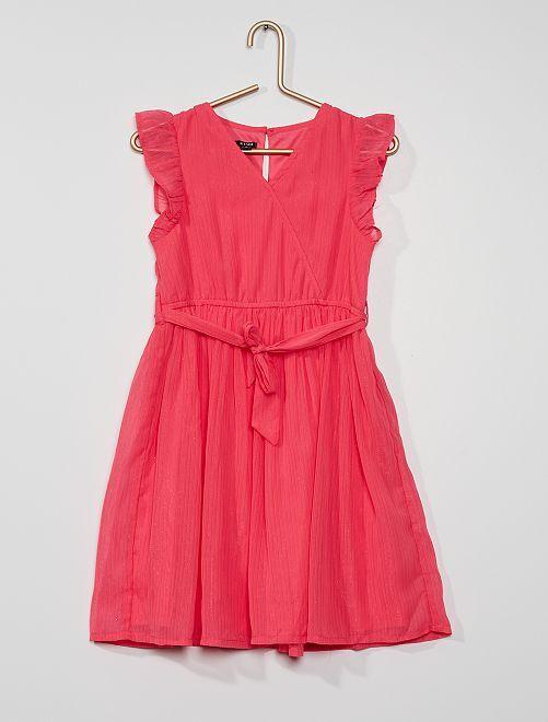 Robe de cérémonie                                                                             rose vif