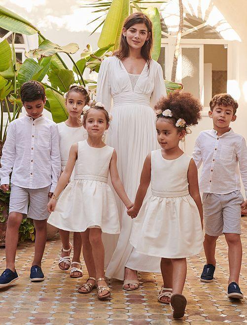 Robe de cortège                                         blanc