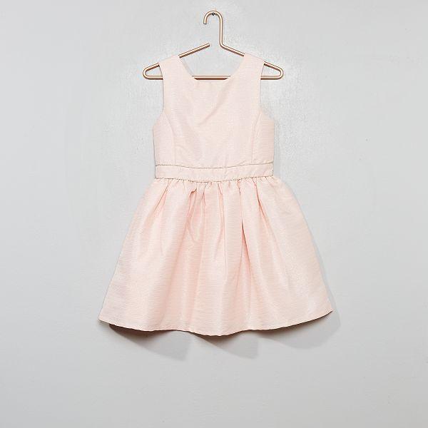 Robe De Cortege Fille 3 12 Ans Rose Clair Kiabi 9 00