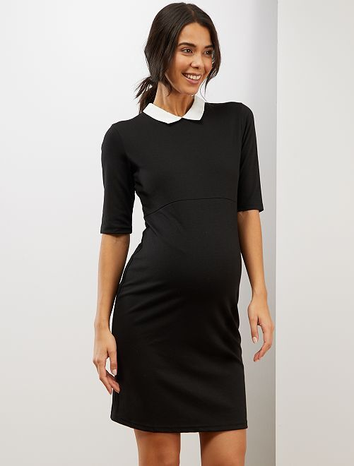 Robe de grossesse babydoll                             noir