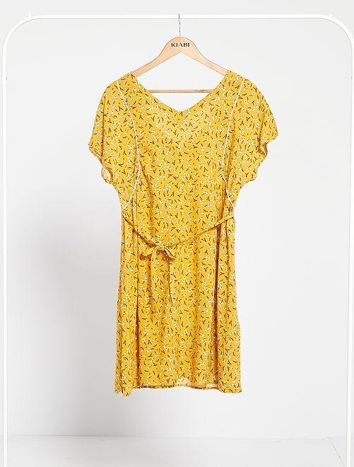 Robe de grossesse                                                     jaune
