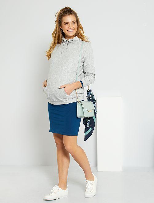 Robe de maternité éco-conçu                                                     bleu