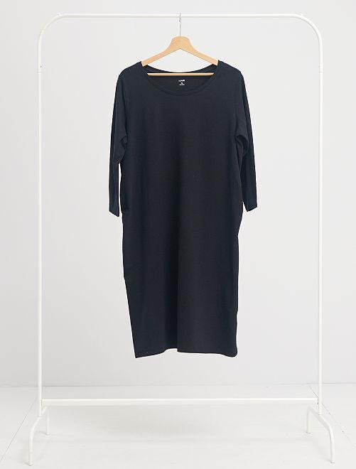 Robe de maternité éco-conçu                             noir