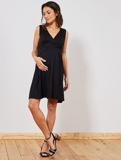 Robe de maternité esprit babydoll                                                                                             noir Femme