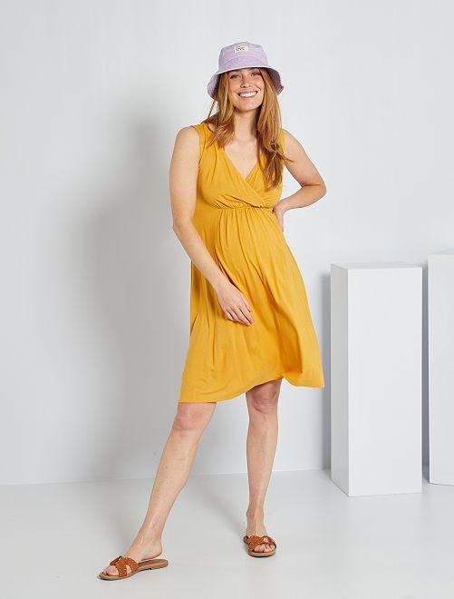 Robe de maternité                                                                 jaune