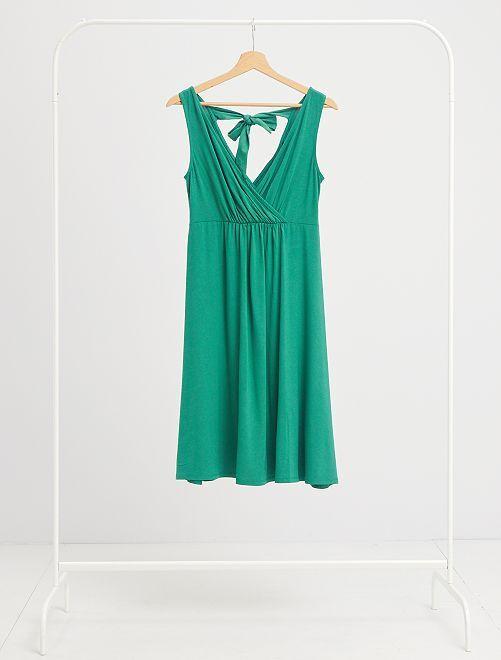 Robe de maternité                                                                                                     vert