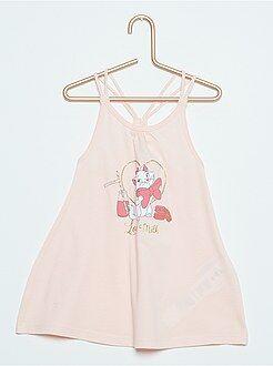 Fille 0-36 mois Robe de plage bretelles tressées 'Minnie'