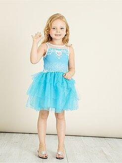 Déguisement enfant - Robe de princesse 'Reine des Neiges' - Kiabi