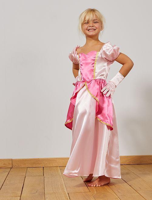 Robe de princesse                             rose